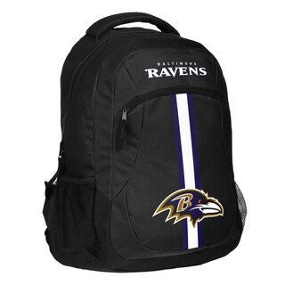Baltimore Ravens NFL Action Stripe Logo Backpack
