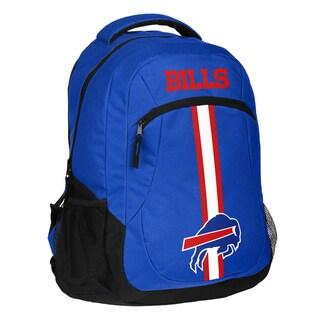 Buffalo Bills NFL Action Stripe Logo Backpack