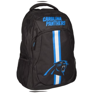 Carolina Panthers NFL Action Stripe Logo Backpack