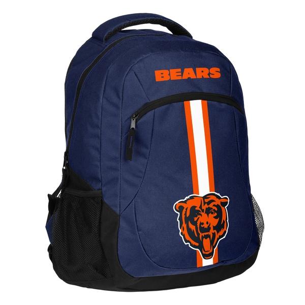 Chicago Bears NFL Action Stripe Logo Backpack