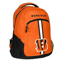 Cincinnati Bengals NFL Action Stripe Logo Backpack