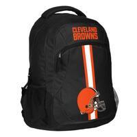 Cleveland Browns NFL Action Stripe Logo Backpack
