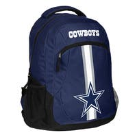 Dallas Cowboys NFL Action Stripe Logo Backpack