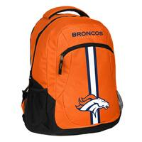 Denver Broncos NFL Action Stripe Logo Backpack