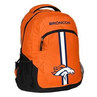 Denver Broncos NFL Action Stripe Logo Backpack
