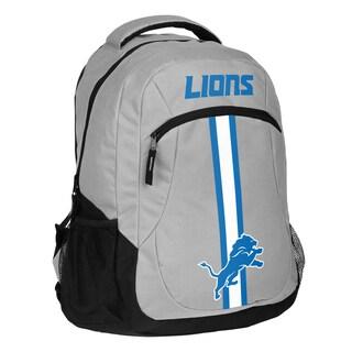 Detroit Lions NFL Action Stripe Logo Backpack