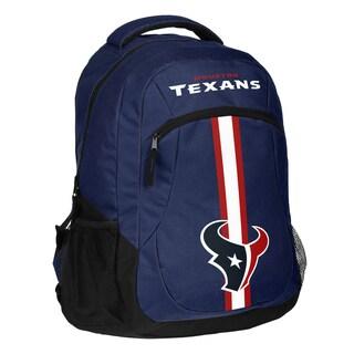 Houston Texans NFL Action Stripe Logo Backpack