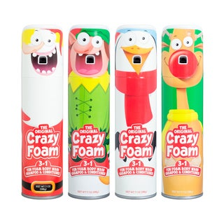 Crazy Foam Holiday 4 Pack