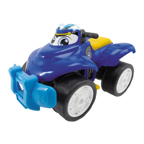 Happy Rescue 11 Inch Vehicle Police Quad