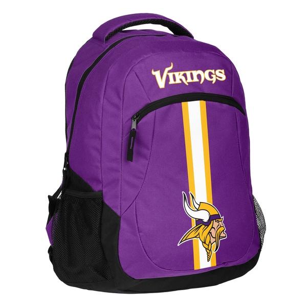 Minnesota Vikings NFL Action Stripe Logo Backpack