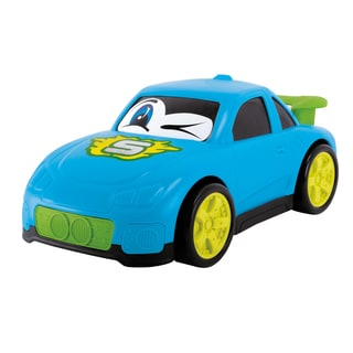10 Inch Happy Runners Vehicle Blue Street Car
