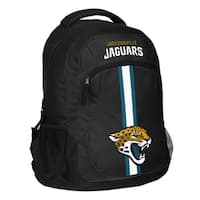 Jacksonville Jaguars NFL Action Stripe Logo Backpack
