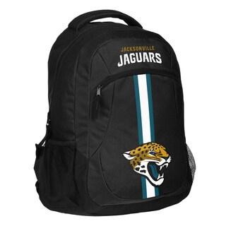 Jacksonville Jaguars NFL Action Stripe Logo Backpack