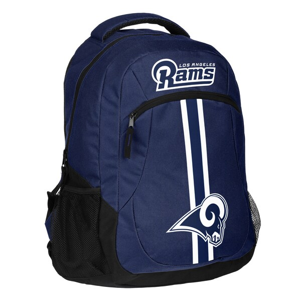 Los Angeles Rams NFL Action Stripe Logo Backpack