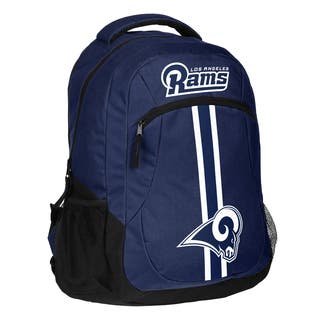 Los Angeles Rams NFL Action Stripe Logo Backpack|https://ak1.ostkcdn.com/images/products/15435637/P21886219.jpg?impolicy=medium