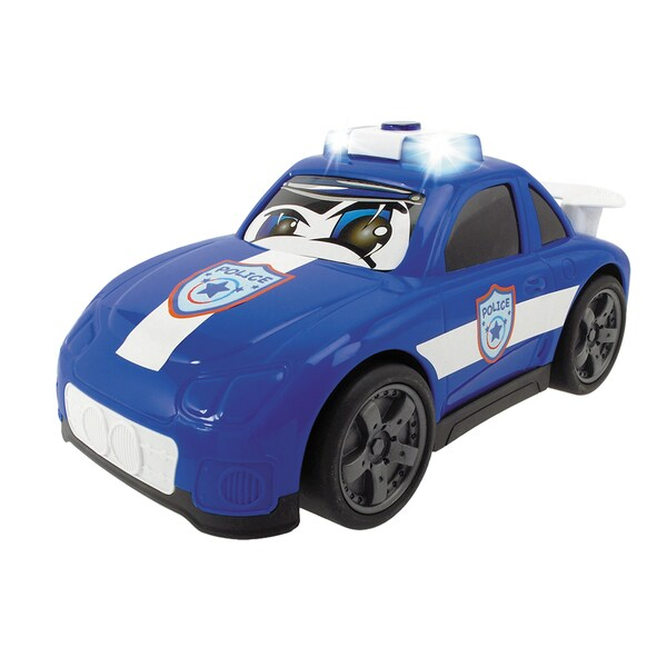 Happy Rescue 11 Inch Vehicle Police Car