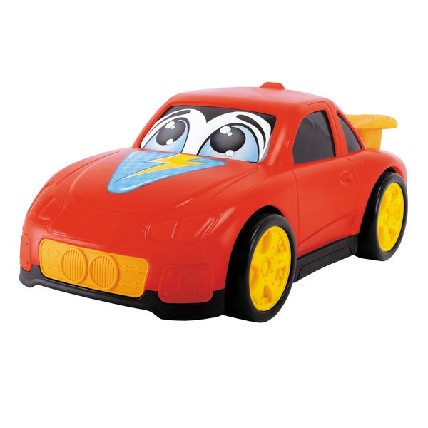10 Inch Happy Runners Vehicle Red Street Car
