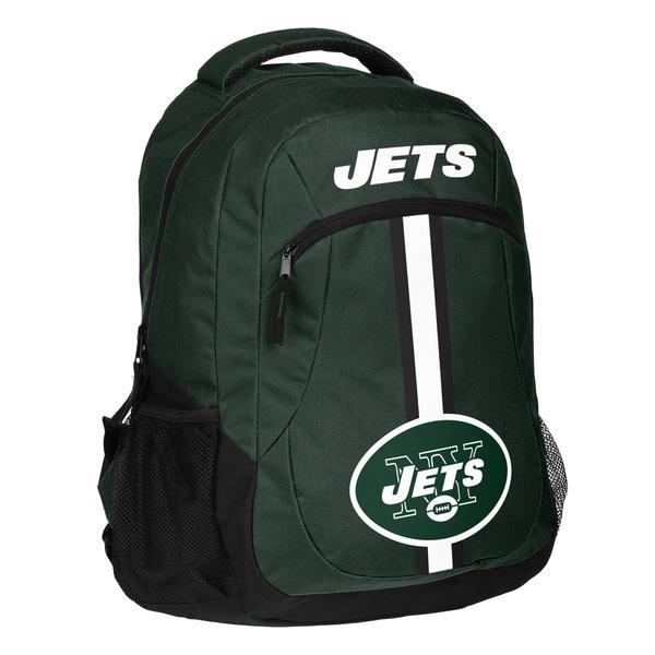New York Jets NFL Action Stripe Logo Backpack