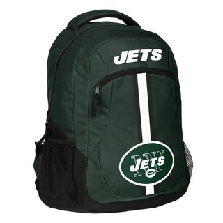 New York Jets NFL Action Stripe Logo Backpack