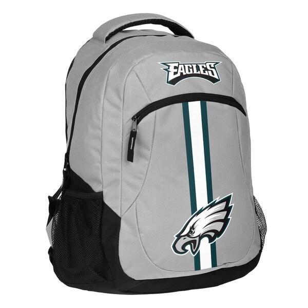 Philadelphia Eagles NFL Action Stripe Logo Backpack