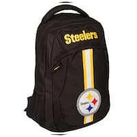 Pittsburgh Steelers NFL Action Stripe Logo Backpack