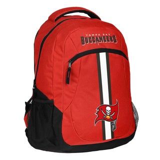 Tampa Bay Buccaneers NFL Action Stripe Logo Backpack