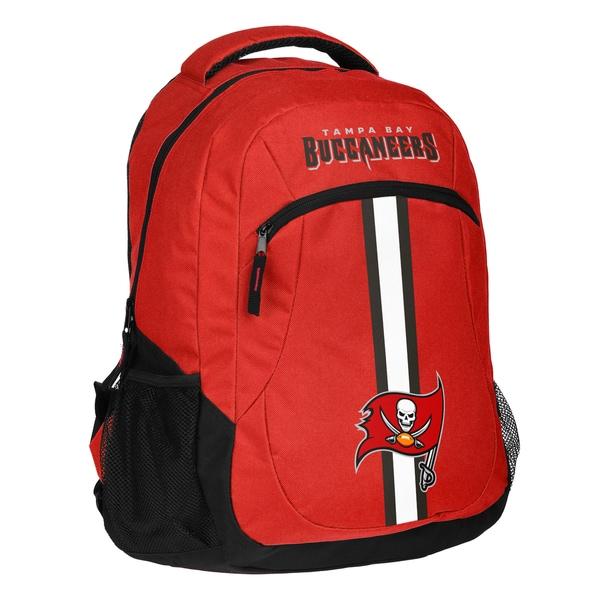 Tampa Bay Buccaneers NFL Action Stripe Logo Backpack