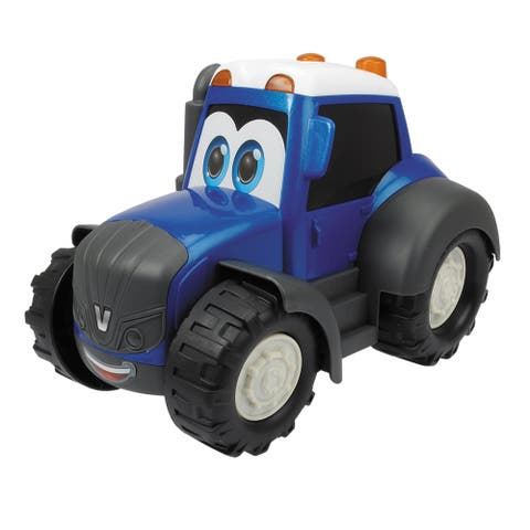 Dickie Toys 10 Inch Valtra Happy Tractor