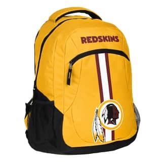 Washington redskins fan shop find great collectibles deals washington redskins nfl action stripe logo backpack aloadofball Image collections