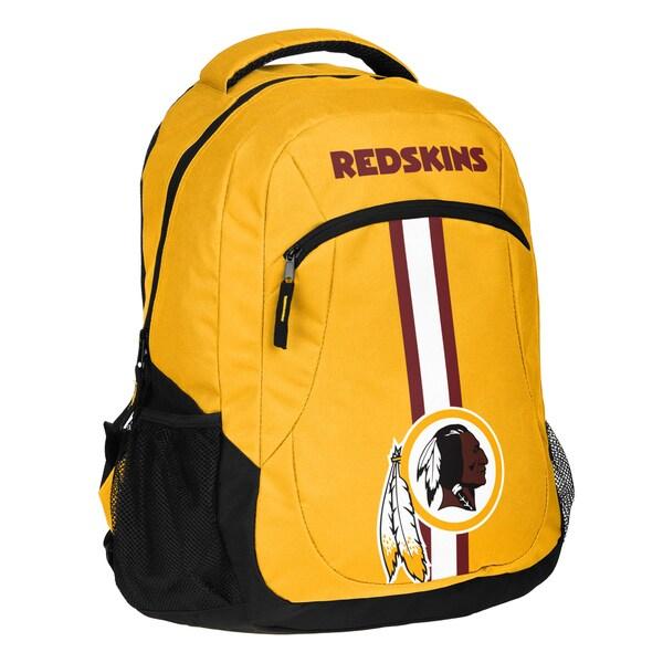 Washington Redskins NFL Action Stripe Logo Backpack