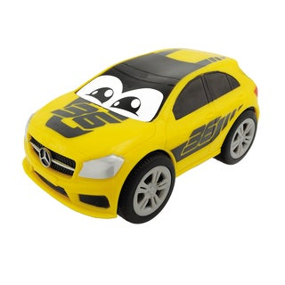Dickie Toys Happy Squeezable Yellow Mercedes