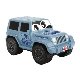 Dickie Toys Happy Squeezable Blue Jeep