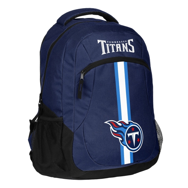 Tennessee Titans NFL Action Stripe Logo Backpack