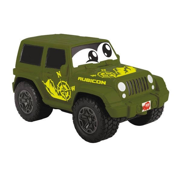 Dickie Toys Happy Squeezable Green Jeep