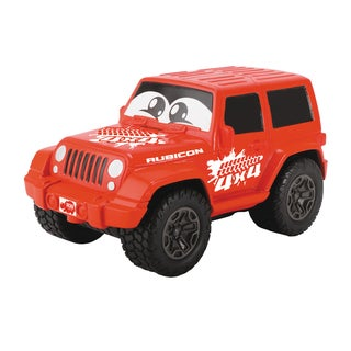 Dickie Toys Happy Squeezable Red Jeep