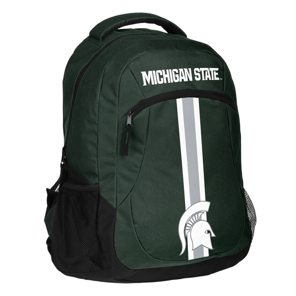 Michigan Spartans NCAA Action Stripe Logo Backpack