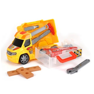 Push and Play Construction Handyman Case Vehicle