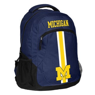 Michigan Wolverines NCAA Action Stripe Logo Backpack