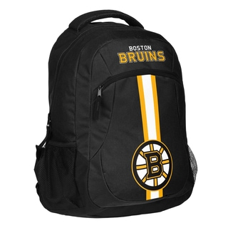 Boston Bruins NHL Action Stripe Logo Backpack