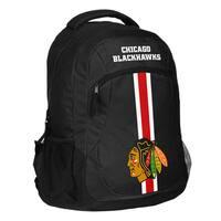 Chicago Blackhawks NHL Action Stripe Logo Backpack