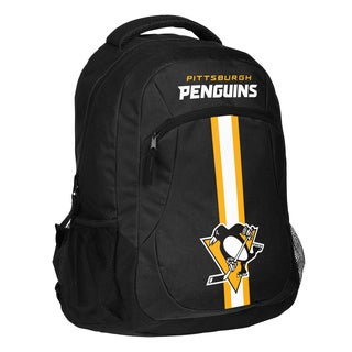 Pittsburgh Penguins NHL Action Stripe Logo Backpack