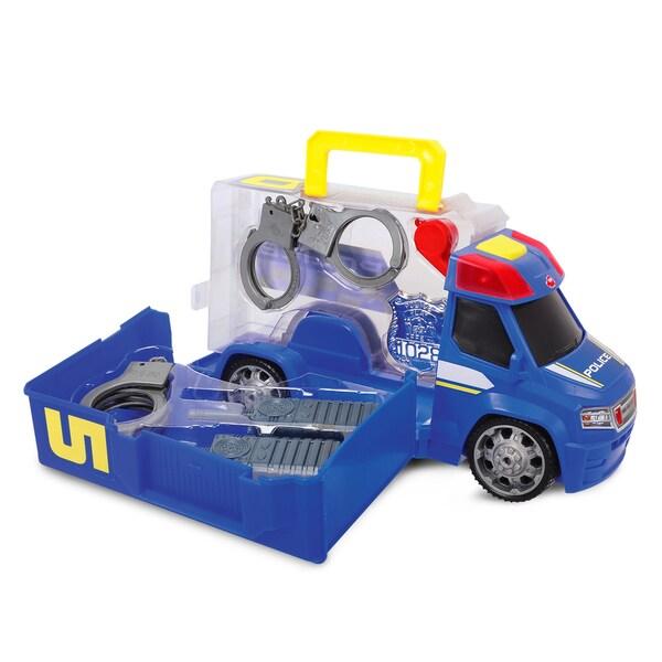 Dickie Toys Push and Play SOS Police Patrol Car