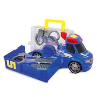 Dickie Toys Push and Play SOS Police Patrol Car