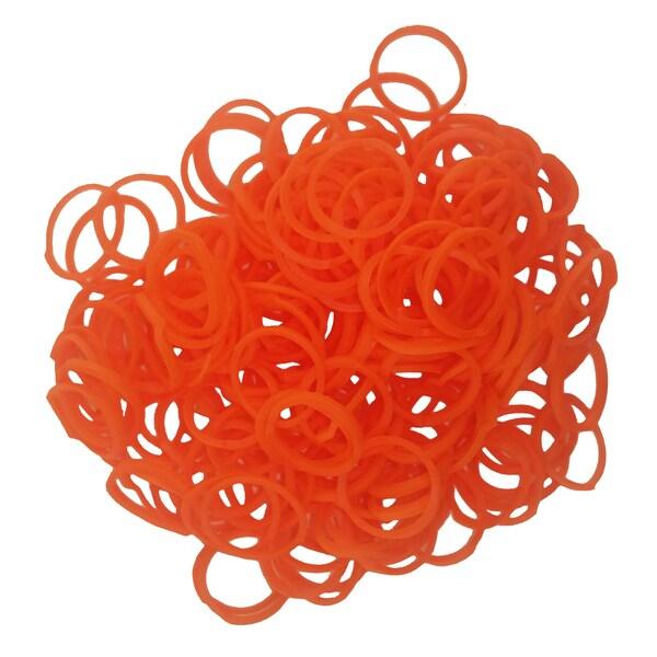 Friendly Bands Tangerine Orange Sunshine Bands Pack