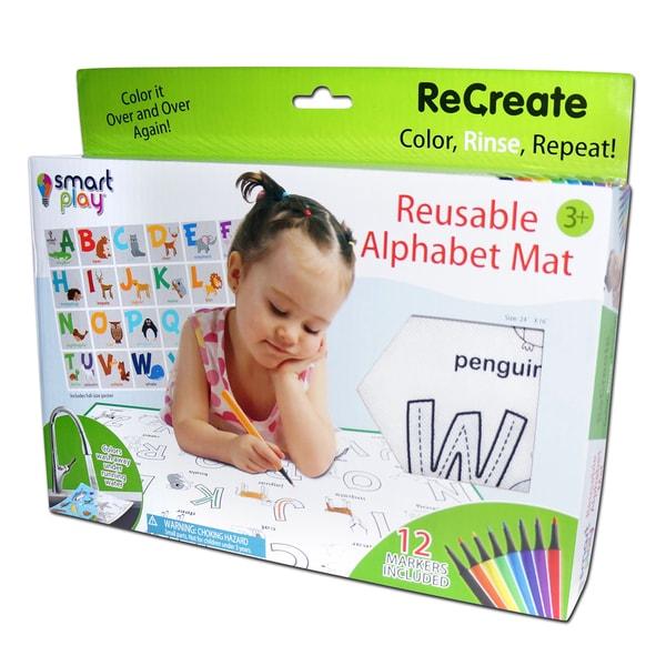 Animal Alphabet ReCreate Large Reusable Coloring Mat