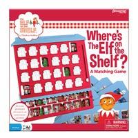 Pressman Elf on the Shelf and Where's The Elf