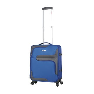 InUSA 3D-City 20-Inch Carry-on Lightweight Softside Spinner Suitcase