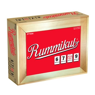 Pressman Rummikub Deluxe Large Number in Wooden Box