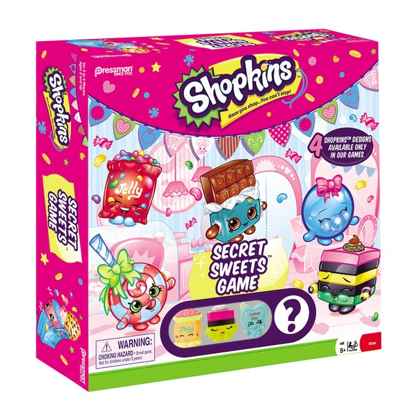 Pressman Shopkins Secret Sweets Game