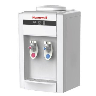 Honeywell HWB2052W 21-Inch Tabletop Water Cooler Dispenser, Hot and Cold Temperatures, White